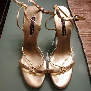 Ralph Lauren Strappy Sandals